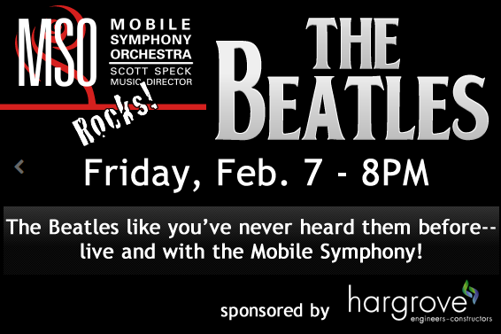 Mobile Symphony Orchestra presents the Beatles