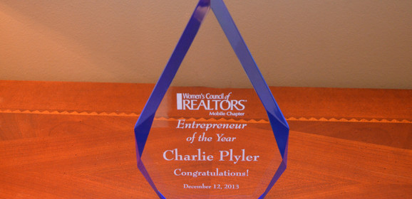An honor To Be Named Entrepreneur Of The Year